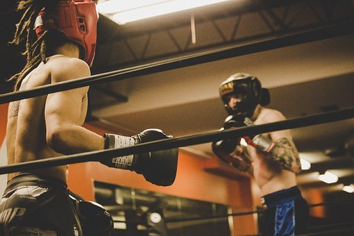 People, Men, Boxing, Sport, Game, Fitness, Exercise