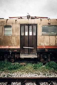 Train, Railway, Track, Metal, Rock, Travel