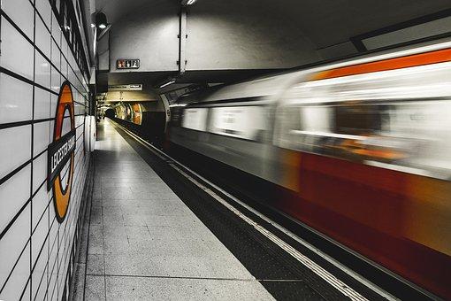 Train, Station, Speed, Railway, Track, Transportation