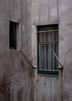 Architecture, Building, Concrete, House, Wall, Window