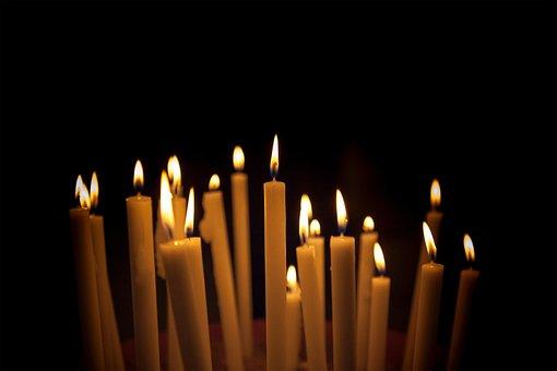 Candles, Light, Fire, Flame, Dark