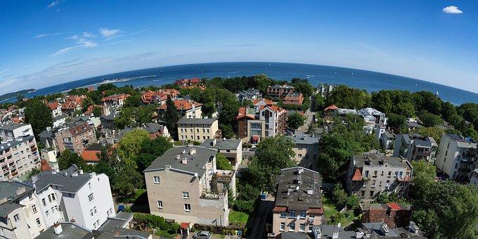 Sopot, City, Ocean, Poland, Europe, Travel, Polish