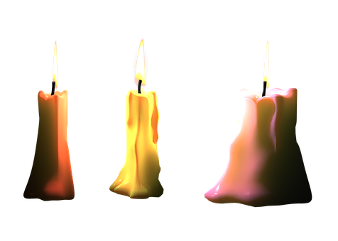 Candles, Png, Isolated, Light, Bill, Flame, Candle Wax