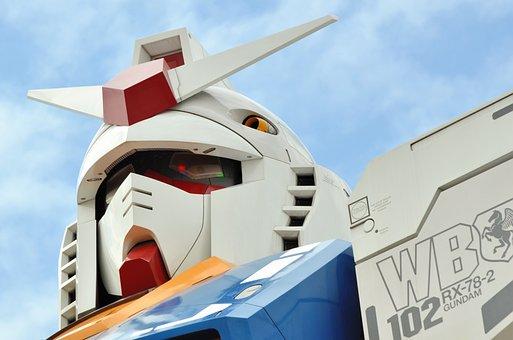 Robot, Sky, Japan