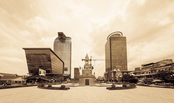 Phnom Penh, Cambodia, Khmer, Landmark, Building, City