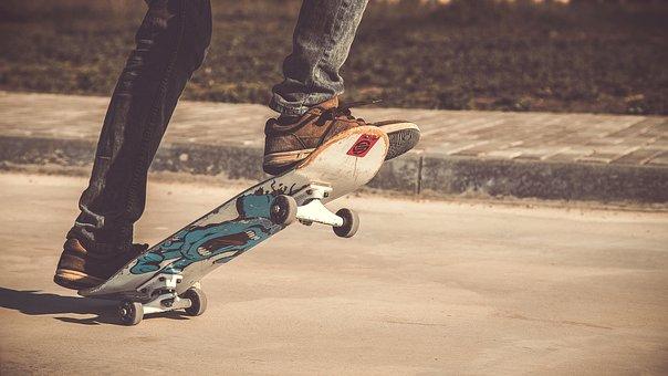 People, Guy, Leg, Skateboarding, Sport, Game, Fitness
