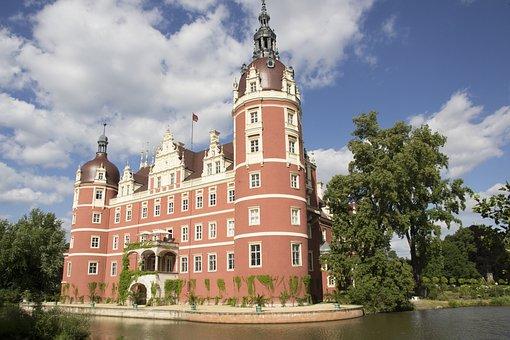 Germany, Saxony, Upper Lusatia, Prince Pücker Park