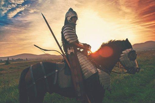 Horse Soldier, Horse, Soldier, Warrior, War, Battle