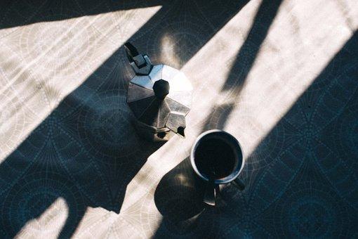 Table, Coffee, Tea, Cup, Teapot, Hot