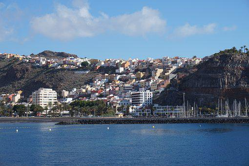 Tenerife, Los Cristianos, Spain, Canary, Coast, Ocean