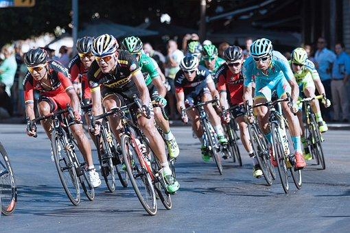People, Men, Bike, Bicycle, Cyclist, Bikers, Racing