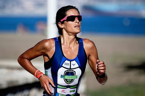 People, Woman, Lady, Runner, Athlete, Shades, Sport