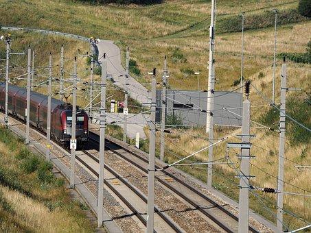 Train, Seemed, Rail Traffic, Trains, Railway, Transport