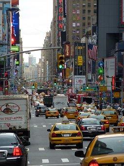 Usa, America, New York, Landmark, Skyline