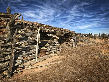 Old Barn, Abandoned, Western, Wooden, Rural, History