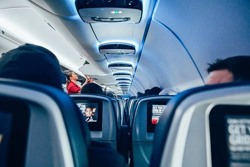 Travel, People, Lady, Girl, Woman, Stewardess, Airplane
