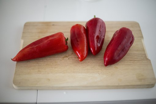 Red, Vegetable, Food, Bell, Chili, Pepper