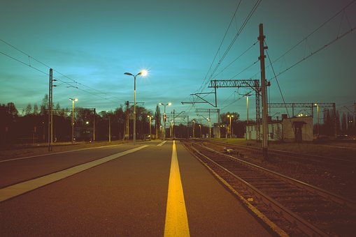 Road, Street, Railway, Track, Travel, Transportation