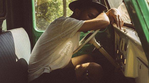 People, Man, Sleep, Tired, Travel, Adventure, Driver