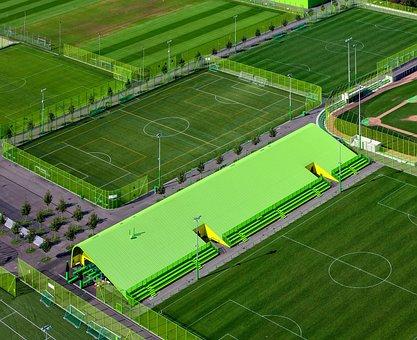 Green, Field, Sport, Venue, Game, Tournament, Fence