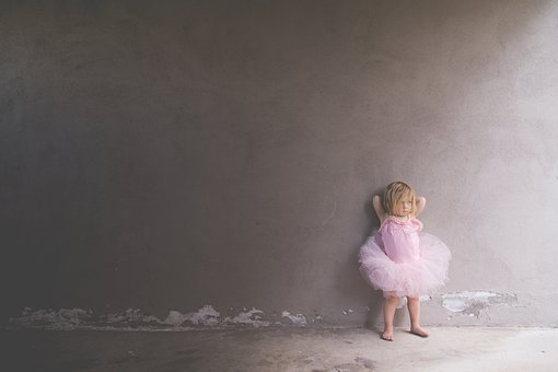 People, Kids, Toddler, Ballet, Ballerina, Pink, Tutu