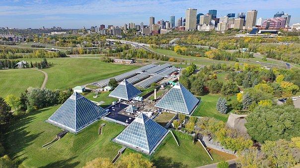 Dji, Drone, Aerial, Canada, Edmonton