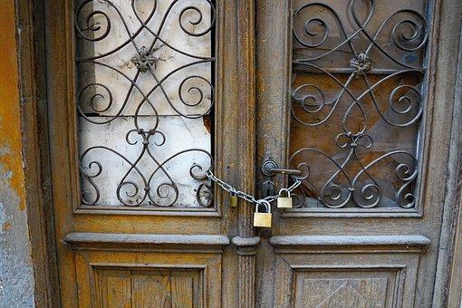 Door, Old, Italy, Castle, Key, Puzzles, Break Up