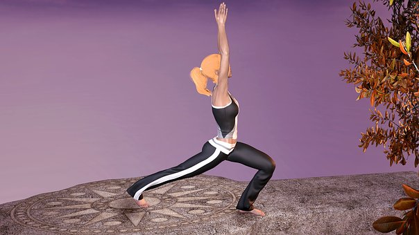 Yoga, Exercise, Woman, Sport, Relaxation, Rest, Harmony