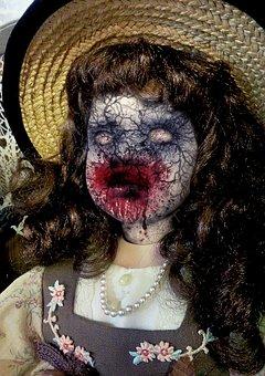 Halloween, Doll, Horror, Evil, Voodoo, Monster, Blood