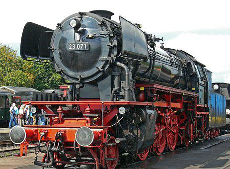 Steam Locomotive, German, Neubaulok, Operational