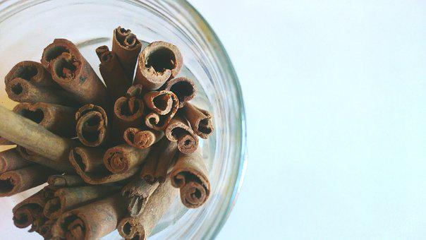 Cinnamon, Jar, Spices, Organic, Ingredient, Nutrition