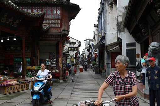 Ancient, Traditional, Old, China, Chinese, Asian, Style