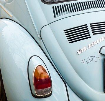 Car, Vehicle, Veteran, Retro, Transport, Blue Car