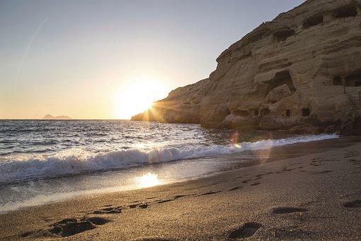 Nature, Landscape, Water, Ocean, Sea, Beach, Waves
