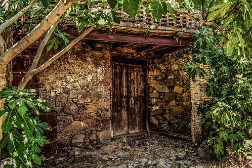 Cyprus, Fikardou, Village, Medieval, House, Old, Decay