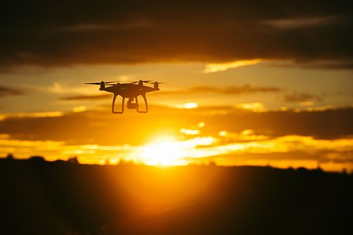 Mountain, Sky, Clouds, Nature, Drone, Sunset, View