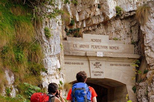 Gallery, Excursion, Pasubio, Road, 52, Italy, Mountain