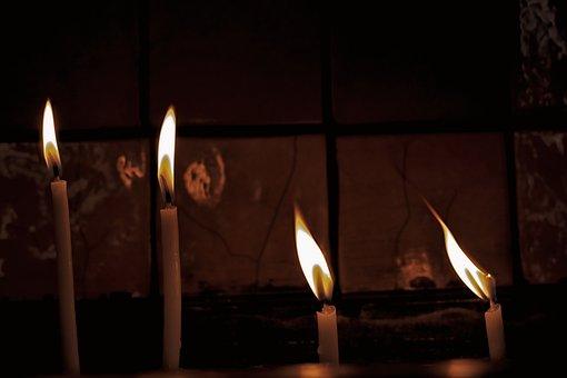 Candle, Light, Macro, Ali, Hot, In The Dark, Yellow