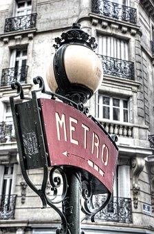 Lantern, Metro, Nostalgia, Nostalgic, Paris, France