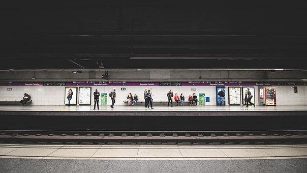 People, Waiting, Passengers, Train, Station