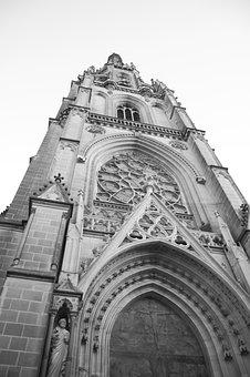Dom, Church, Religion, Entrance Portal, Powerful