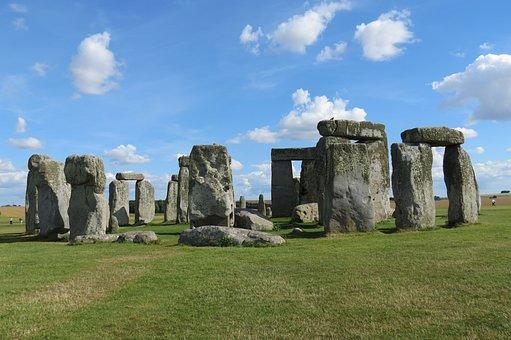 Stonehenge, Uk, Salisbury, Heritage, Unesco