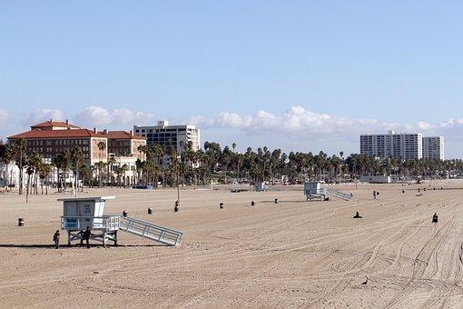 Venice Beach, Beach, Safeguard, California, Usa