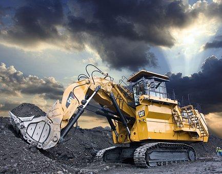 Large Hydraulic Excavator, Cat, 6030, Caterpillar