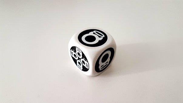 Unusual Dice, Dice, Role Playing Dice, Custom Dice