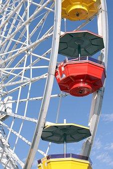 Ferris Wheel, Fun, Ferris, Park, Amusement, Fair