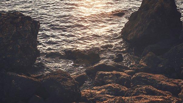Nature, Landscape, Water, Ocean, Sea, Beach, Rock