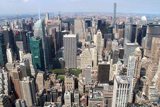 Us, Nyc, Landmark, Modern, Cityscape, Metropolitan