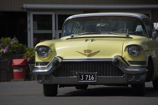 Cadillac, Oldtimer, Cars, Classic, Old, American