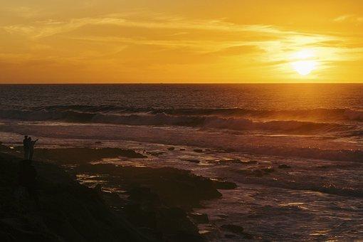 Nature, Landscape, Water, Ocean, Sea, Beach, Sand